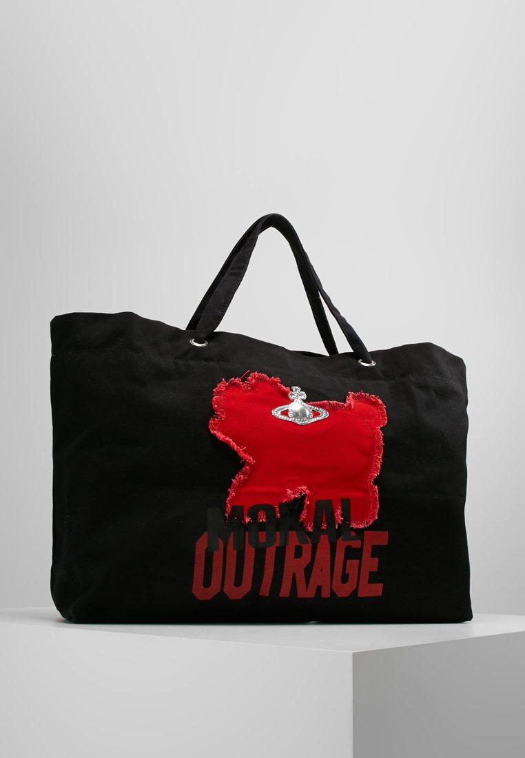 Vivienne Westwood - Bolso shopping - black