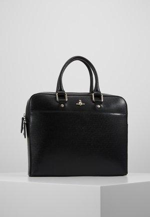 KENT SLIM DOUCMENT CASE - Briefcase - black