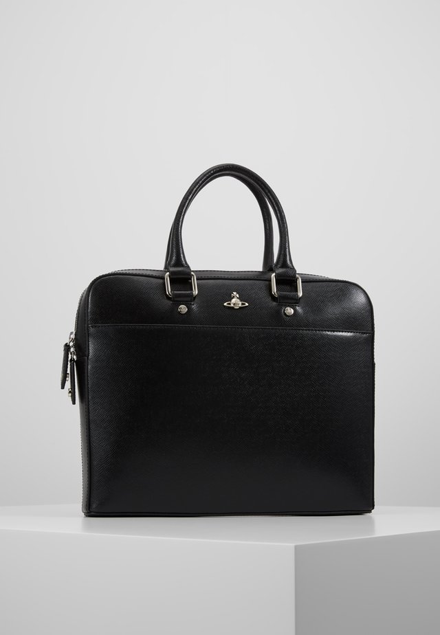 KENT SLIM DOUCMENT CASE - Aktovka - black