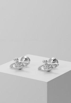 MINI RELIEF CUFFLINKS - Gemelos - silver-coloured