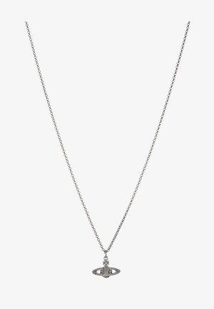 MAN MINI BAS RELIEF ORB PENDANT - Halsband - silver-coloured