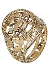 Vivienne Westwood - AARON SEAL - Ring - gold - 4