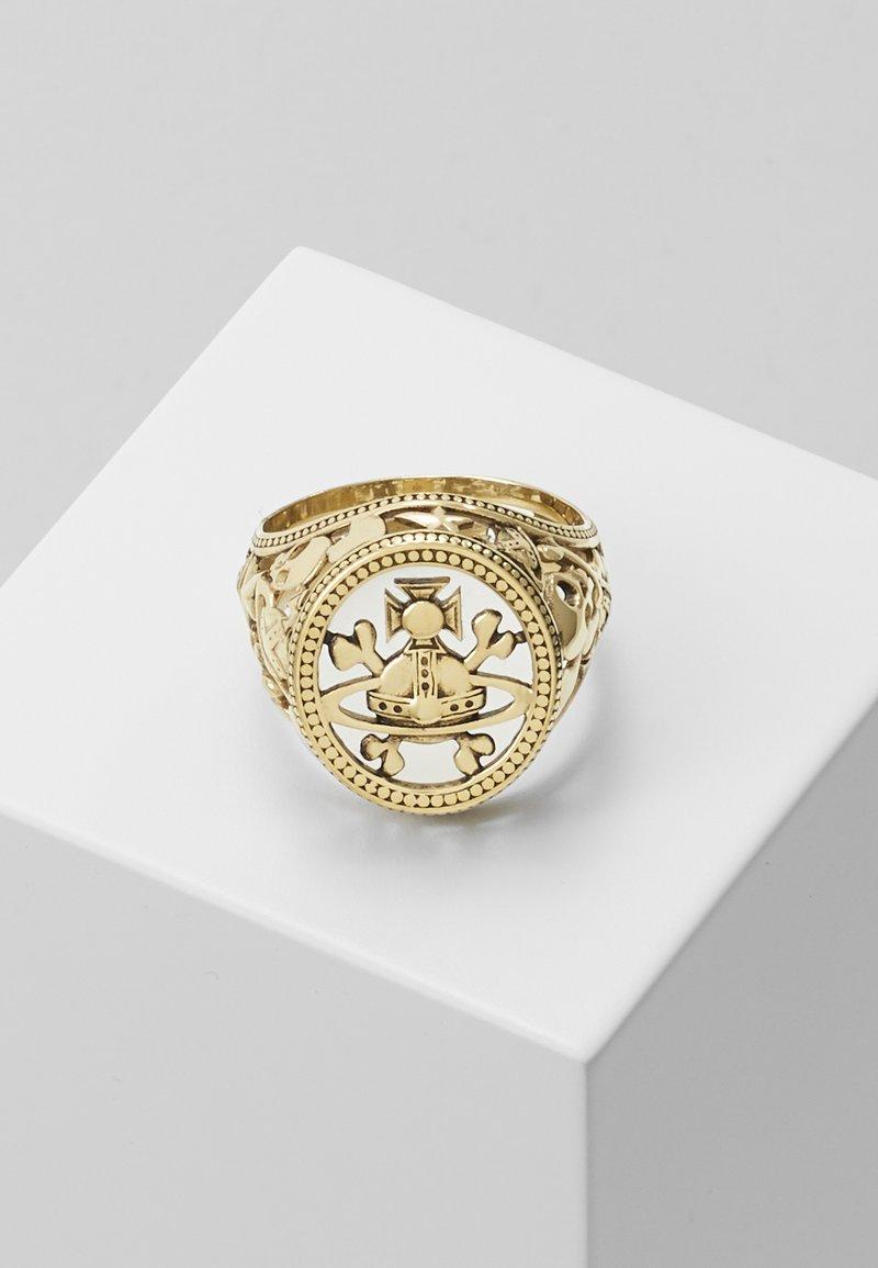 Vivienne Westwood - AARON SEAL - Ring - gold