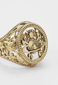 Vivienne Westwood - AARON SEAL - Ring - gold - 3