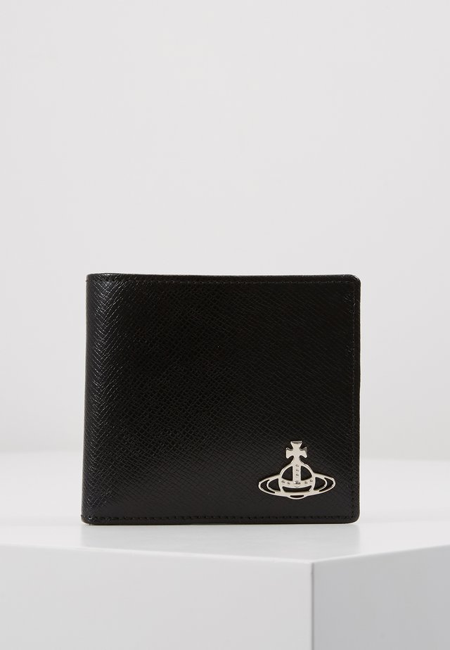 KENT MAN WALLET - Portfel - black