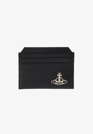 KENT SLIM CARD HOLDER - Peněženka - black