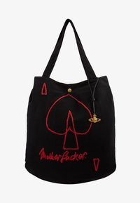 Vivienne Westwood - ROUND SHOPPER - Shopping bags - black - 1