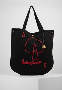 Vivienne Westwood - ROUND SHOPPER - Shopping bags - black - 6