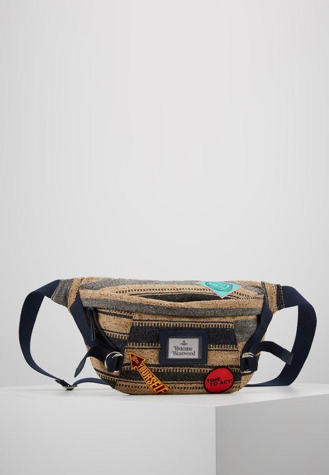 PERU BUMBAG - Bum bag - blue