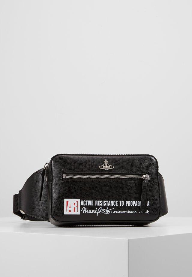 KENT BUM BAG - Bum bag - black