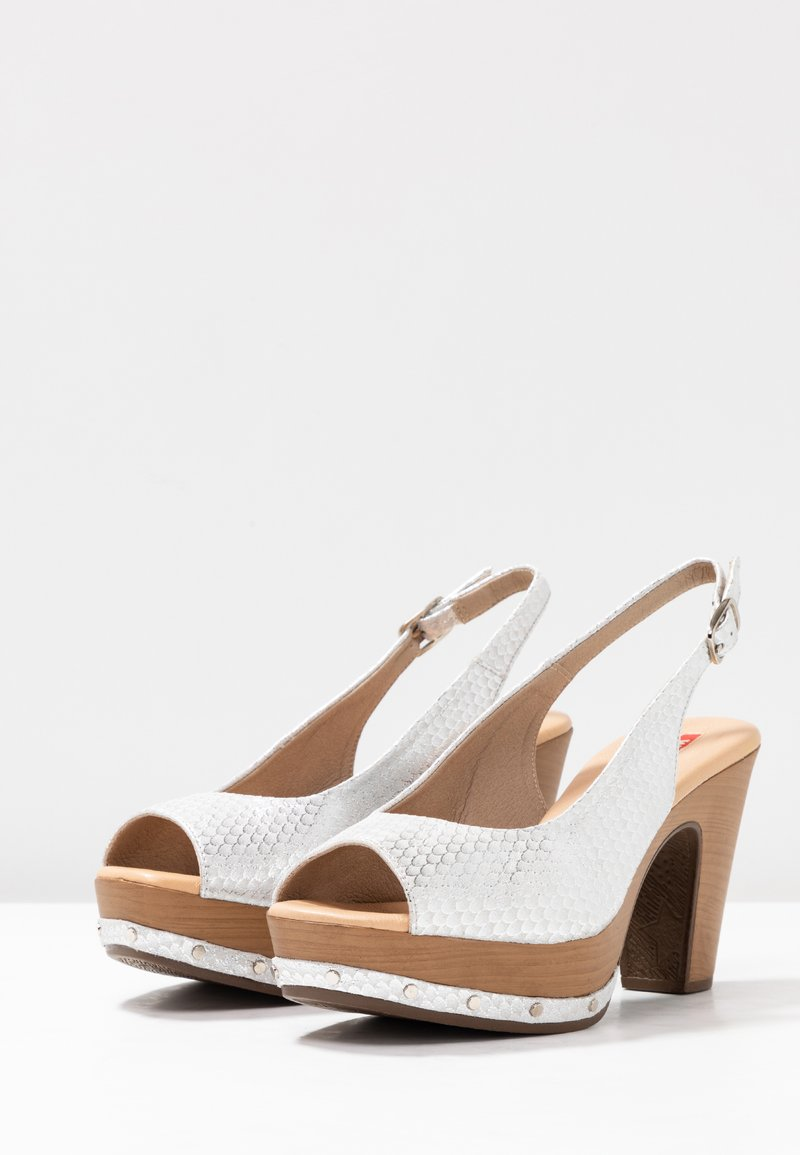Weekend À Mules À Mules Talons Weekend Talons Blanco Mules Blanco Weekend hrBdCQtsx