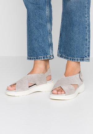 Platform sandals - perla