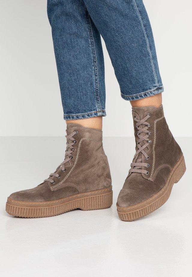 Platform ankle boots - topo