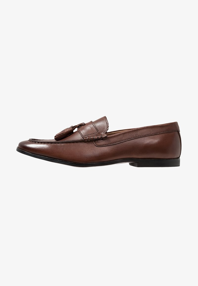 Walk London - RAPHAEL TASSEL LOAFER - Scarpe senza lacci - brown