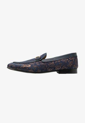 JUDE PAISLEY - Slippers - navy/blue