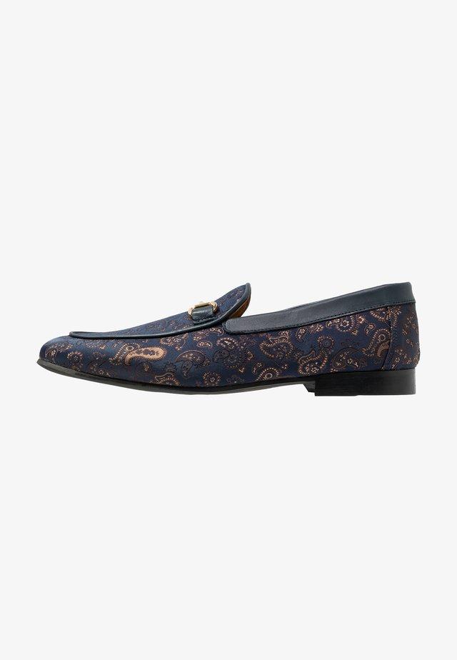 JUDE PAISLEY - Scarpe senza lacci - navy/blue