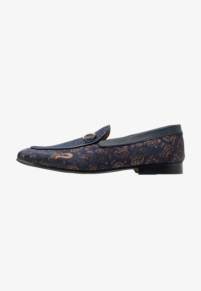 Walk London - JUDE PAISLEY - Scarpe senza lacci - navy/blue