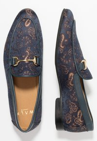 Walk London - JUDE PAISLEY - Scarpe senza lacci - navy/blue - 1