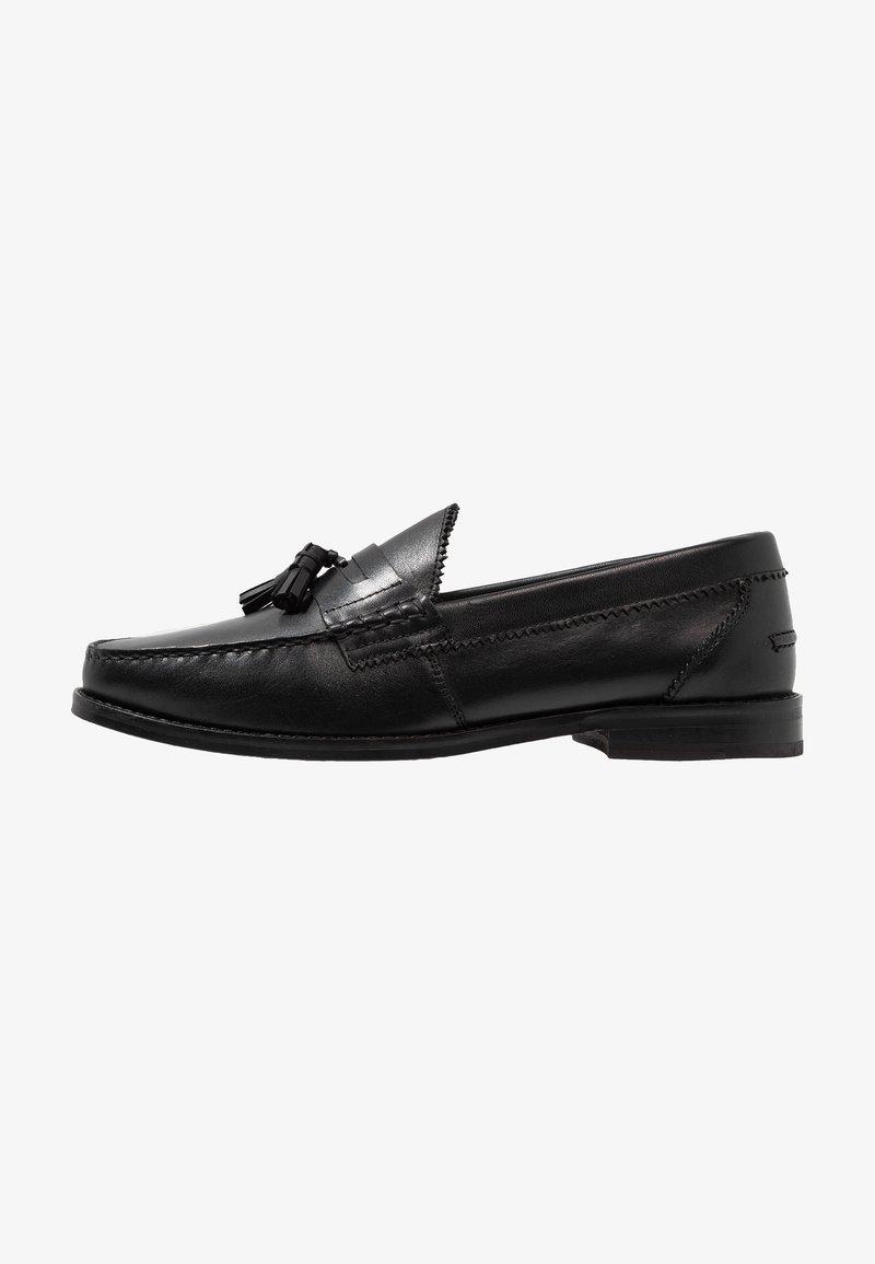 Walk London - TOM TASSEL LOAFER - Smart slip-ons - black