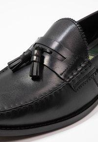 Walk London - TOM TASSEL LOAFER - Mocassini eleganti - black - 5