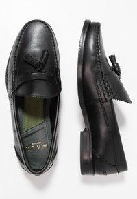 Walk London - TOM TASSEL LOAFER - Mocassini eleganti - black - 1
