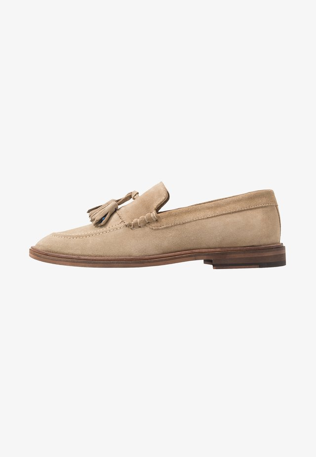 WEST TASSEL LOAFER - Instappers - stone/blue