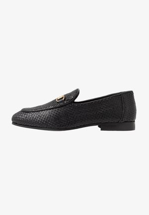 JACOB WEAVE LOAFER - Smart slip-ons - black