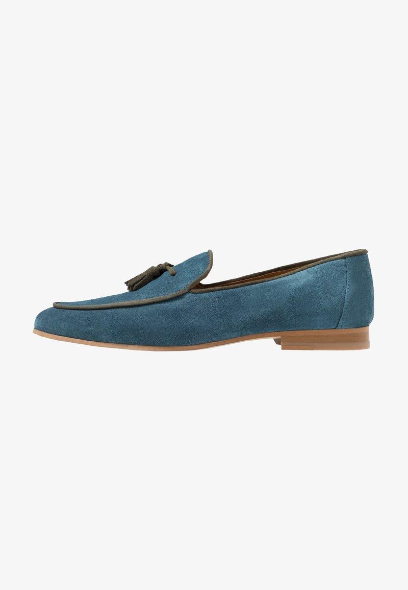 Walk London - JUDE STYLE TASSEL - Slippers - navy blue