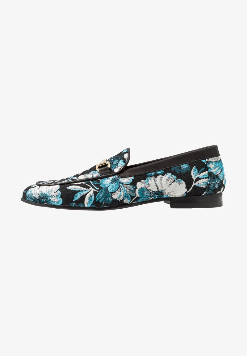 Walk London - JUDE CANCUN - Slip-ins - black/blue