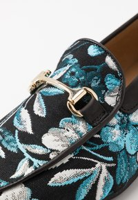 Walk London - JUDE CANCUN - Slip-ins - black/blue - 5