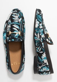 Walk London - JUDE CANCUN - Slip-ins - black/blue - 1