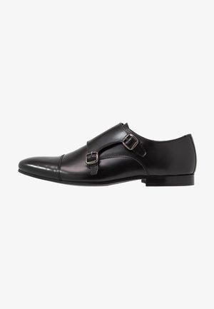 HENDRIX MONK - Business-Slipper - smooth black