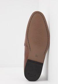 Walk London - RAPHAEL  - Mocassini eleganti - swiss brown/navy - 4