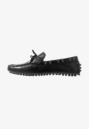 RALLY DRIVER - Moccasins - black