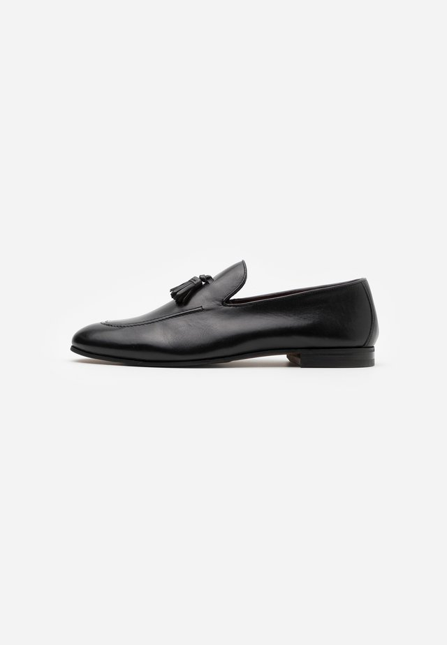 TERRY TASSEL LOAFER - Business loafers - black
