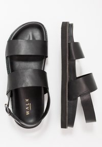 Walk London - JACKSON - Riemensandalette - swiss black - 1