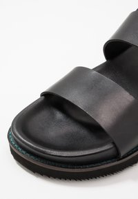 Walk London - JACKSON - Riemensandalette - swiss black - 5