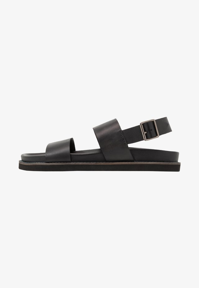 JACKSON - Sandals - swiss black