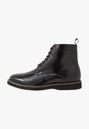 CHUCK LACE UP - Bottines à lacets - smooth black/tape black/grey
