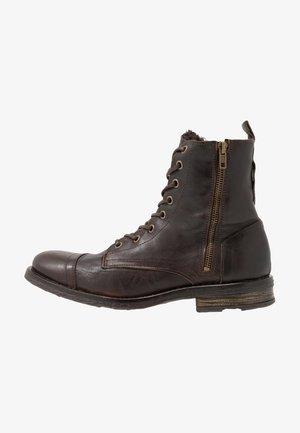 STIGMA ZIP BOOT - Veterboots - brown