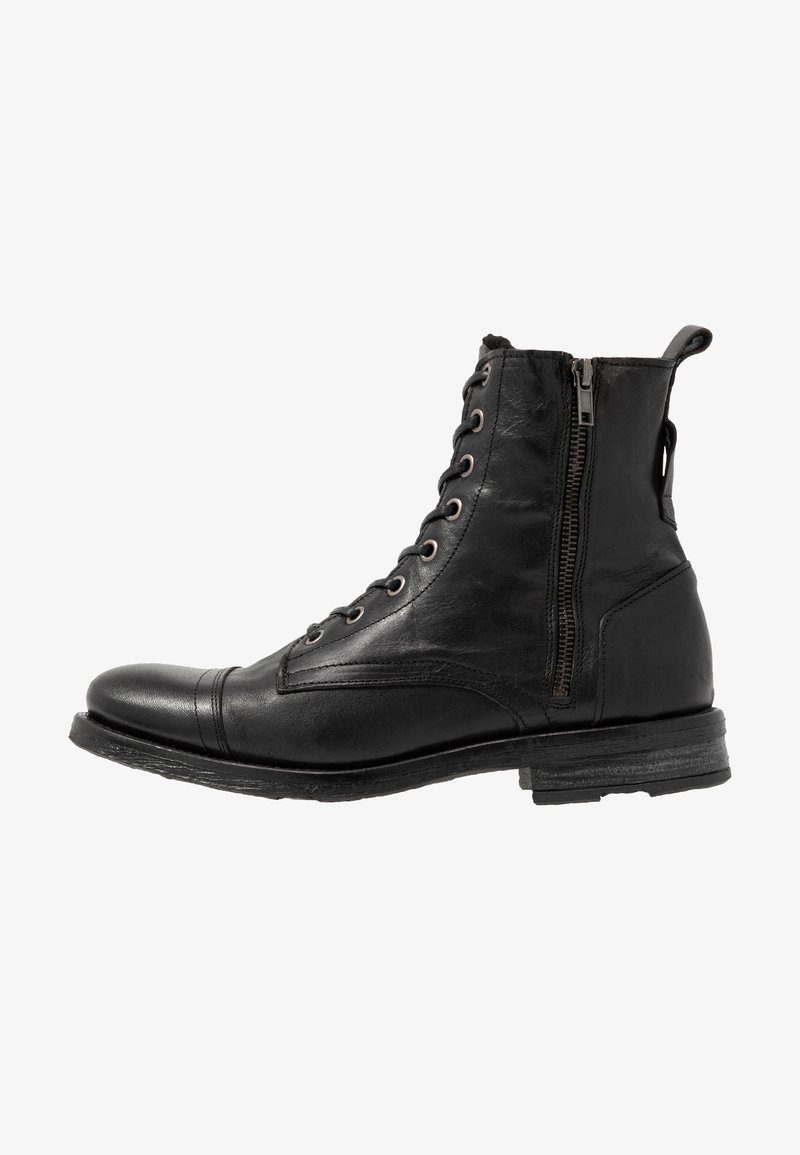 Walk London - STIGMA ZIP BOOT - Veterboots - black