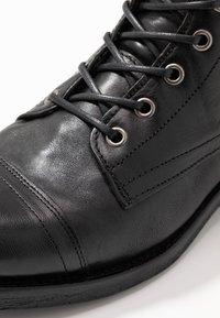 Walk London - STIGMA ZIP BOOT - Veterboots - black - 5