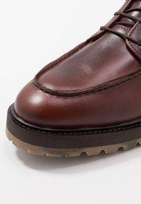 Walk London - JAMES APRON BOOT - Botines con cordones - thor - 5