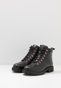 Walk London - SEAN HIKING BOOT - Veterboots - smooth black - 2