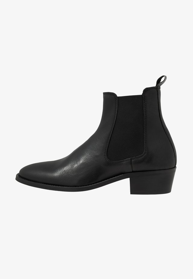 HOXTON CHELSEA CUBAN - Classic ankle boots - black