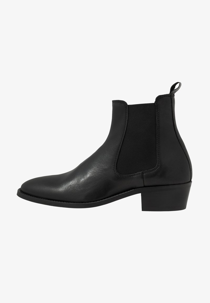 Walk London - HOXTON CHELSEA CUBAN - Classic ankle boots - black