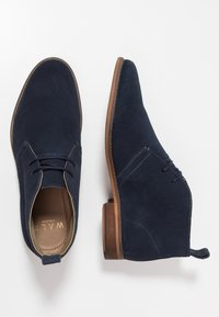 Walk London - HARRINGTON CHUKKA BOOT - Stringate sportive - blue - 1