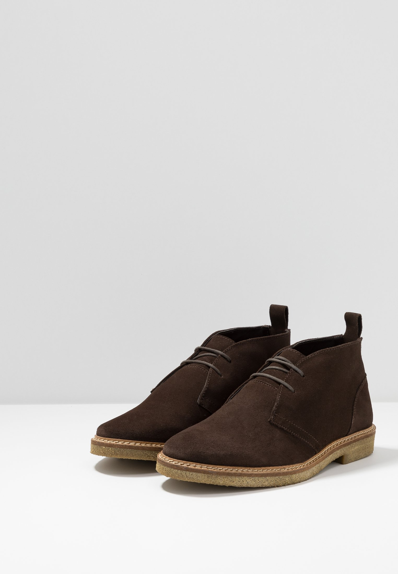 Walk ChukkaChaussures Hornchuch Brown À London Lacets rBoQxWdCeE