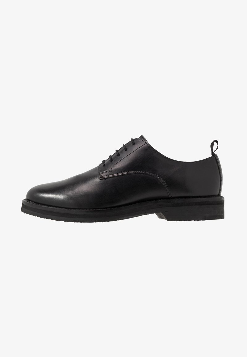 Walk London - JAZZ SHOE - Lace-ups - swiss black