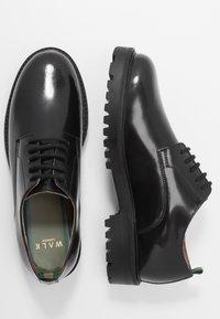Walk London - SEAN DERBY - Zapatos de vestir - burgundy - 1